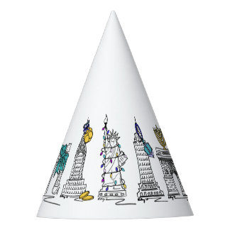 New York City Hanukkah NYC Jewish Holiday Chanukah Party Hat