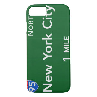 New York City Highway Sign iPhone 8/7 Case