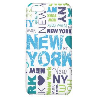 New York city iphone case typography design iPhone 5C Cases