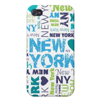 New York city iphone case typography design Case For iPhone 4