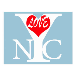 New York City Love rw Post Cards