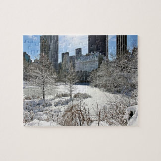 New York City Manhattan Central Park Jigsaw Puzzle