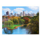 New York City Manhattan Central Park Panorama Postcard