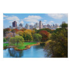 New York City Manhattan Central Park Panorama Poster