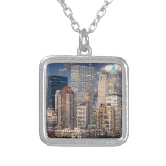 New York City Manhattan Silver Plated Necklace