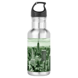 New York City - Manhattan - Vintage 532 Ml Water Bottle