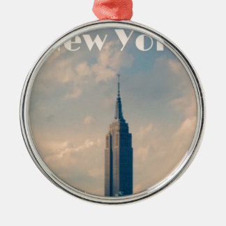 New York City Metal Ornament