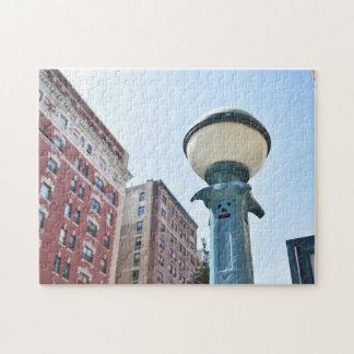 New York City Metro Urban Photography NYC Building Jigsaw Puzzle