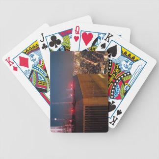 new york city moonlight world trade center poker deck
