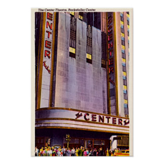 New York City, New York 30 Radio City 1940 Poster