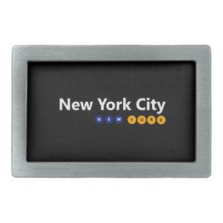 New York City, New York Belt Buckle