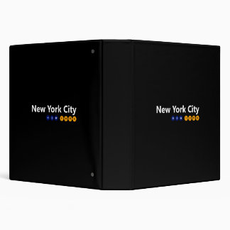 New York City, New York Binder