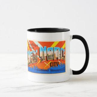 New York City New York NY Vintage Travel Souvenir Mug