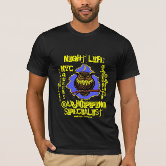 New York City Night life t-shirt design