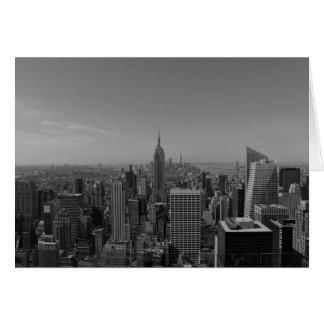 New York City / Noir, card