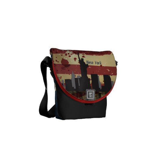 New York  City , NY American Cities CityScape Bag Commuter Bags