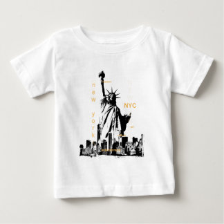 New York City Ny Nyc Statue of Liberty Baby T-Shirt