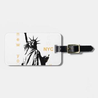 New York City Ny Nyc Statue of Liberty Luggage Tag