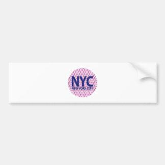 New york city NYC Bumper Sticker