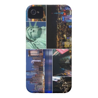 New York City NYC collage photo cityscape iPhone 4 Case-Mate Case
