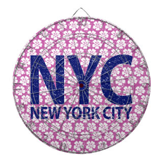 New york city NYC Dartboard