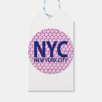New york city NYC Gift Tags