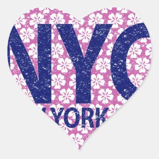 New york city NYC Heart Sticker