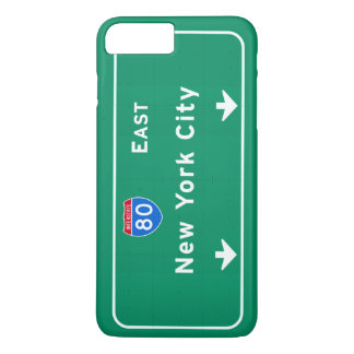New York City NYC Interstate I-80 East Highway iPhone 7 Plus Case