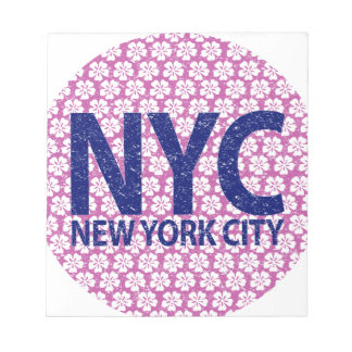 New york city NYC Notepad