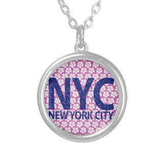 New york city NYC Silver Plated Necklace