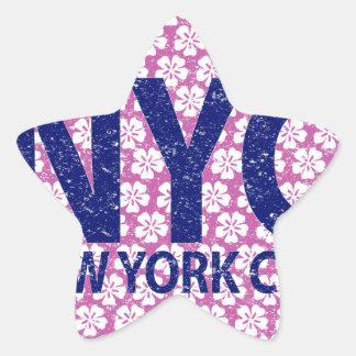 New york city NYC Star Sticker