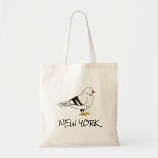 New York City NYC Trip Pigeon Bird Birds Tote