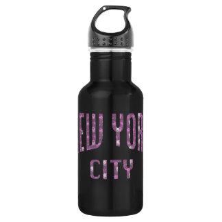 New York City on Spring Pink Rose 532 Ml Water Bottle