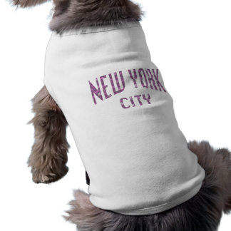 New York City on Spring Pink Rose Shirt