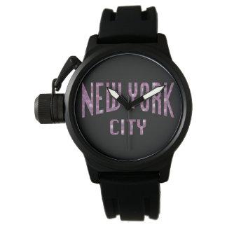 New York City on Spring Pink Rose Watch