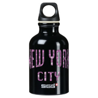 New York City on Spring Pink Rose Water Bottle