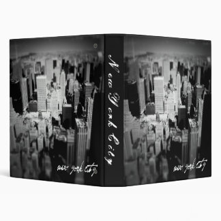 New York City Photo Album Vinyl Binders