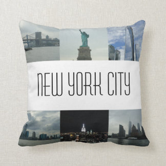 New York City Photo Cushion Souvenir