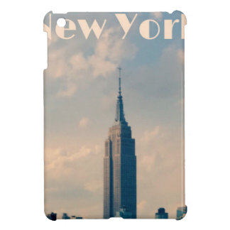 "New York City Print "" I love New York"" iPad Mini Cover"