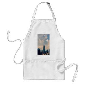 "New York City Print "" I love New York"" Standard Apron"
