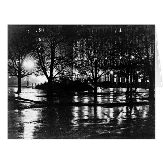 New York City Reflections 1897 Card