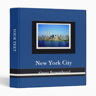 New York City Remembered 1 in Binder