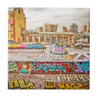 New York City's graffiti site Tile