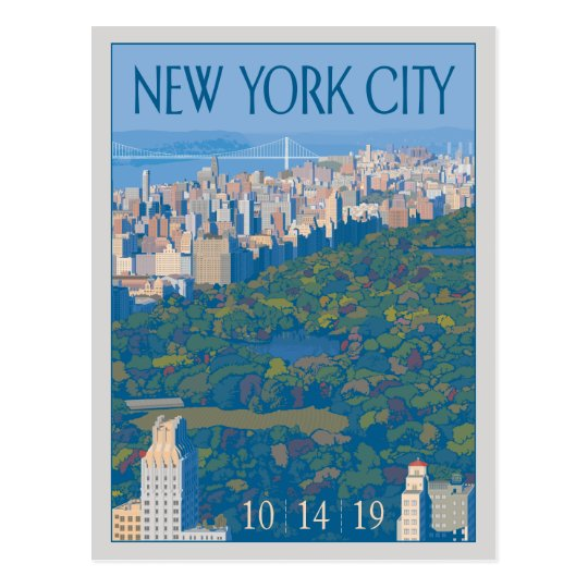 New York City | Save the Date Postcard