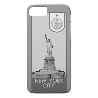New York City Seal - Statue of Liberty iPhone 7 Case