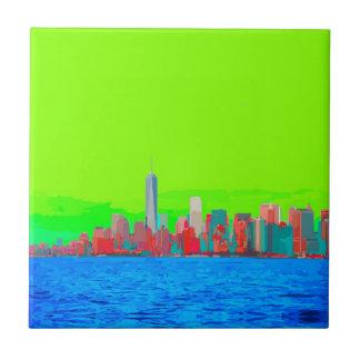 New York City Sky Line Tiles