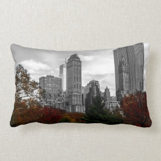 New York City Skyline 2 Sided Lumbar Pillow