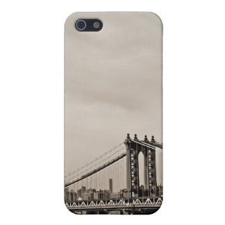 New York City Skyline and Manhattan Bridge Case For The iPhone 5