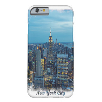 New York City Skyline Barely There iPhone 6 Case