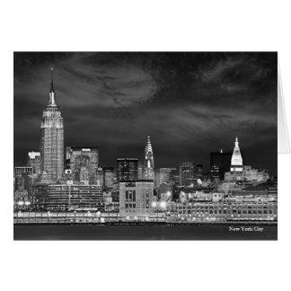 New York City Skyline Blank Card